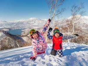 斑尾東急リゾート ホテルタングラム:◆真っ白な雪景色☆天然雪100%のふわふわスノーリゾート