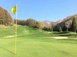 斑尾東急リゾート ホテルタングラム:◆併設ゴルフ場はホテルの目の前に広がります。斑尾東急ゴルフクラブ