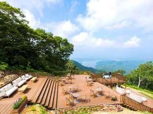 斑尾東急リゾート ホテルタングラム:◆標高1100mの野尻湖テラス *リフトは期間限定営業につき事前にお問い合わせください。