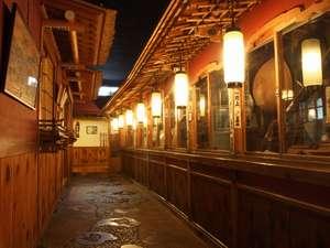 歴史の宿 金具屋:斉月楼廊下