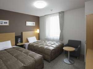 コンフォートホテル呉:■ツインエコノミー客室画像 120cm幅ベッド×2台で快適♪
