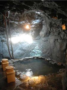 磨洞温泉 涼風荘:【貸切洞窟風呂】テーマパーク風洞窟風呂。カップルに大好評