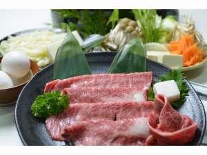 磨洞温泉 涼風荘:三重ブランド松阪肉すき焼き
