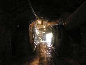磨洞温泉 涼風荘:洞窟座敷年中18度~23度神秘の世界へ