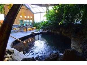 磨洞温泉 涼風荘:高虎の湯大浴場(男湯)お肌がつるつるになります