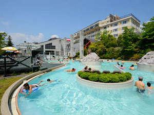 ホテルサンバレー那須:家族みんなで遊べる屋外プール『アクアヴィーナス』