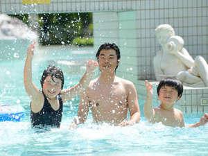 ホテルサンバレー那須:青空の下、水着でエンジョイ!『アクアヴィーナス』