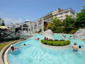 ホテルサンバレー那須:【アクアヴィーナス】屋外温浴施設アクアヴィーナスで遊ぼう♪