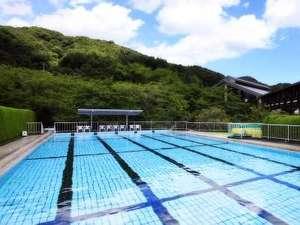 里山の別邸 下田セントラルホテル:明るい日差しと心地よい里山の風を感じる屋外プール