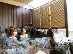 ハツカ石温泉 石打ユングパルナス:人気の露天風呂付和室 頭や体は洗えません(大浴場をご利用下さい)