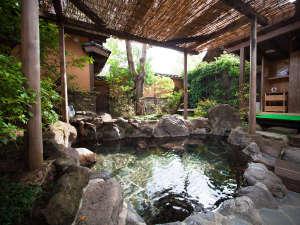 由布院温泉 楓の小舎:◆貸切露天風呂