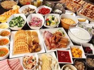 横浜ベイシェラトンホテル&タワーズ:<朝食コンパス>写真では載せきれないほどのメニュー。「横浜で一番美味しい朝食!」と言われるために。
