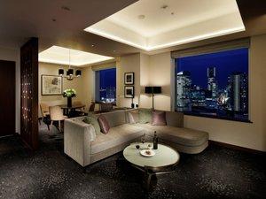 横浜ベイシェラトンホテル&タワーズ:シェラトンクラブジュニアスイート 71㎡