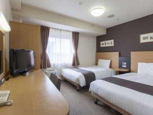 コンフォートホテル横浜関内:2ベッドルーム◆ツインエコノミー◆20平米◆123cm幅ベッド2台