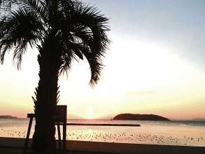 民宿オサキ:ビーチ
