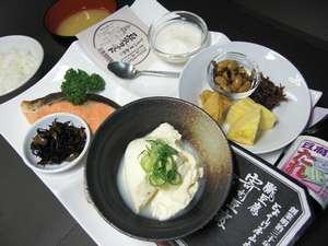 プチホテル京都:とようけ屋山本様とのコラボ朝食!¥700/名様にてご用意しております!