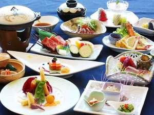 フォレストリゾート 箱根森のせせらぎ:春の夕食会席(一例)
