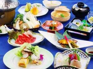 フォレストリゾート 箱根森のせせらぎ:2017年11月、12月の彩り鮮やかな夕食会席膳