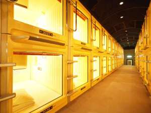 Asahi カプセル&サウナ:全室コンセント完備