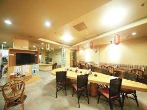 Asahi カプセル&サウナ:レストラン「わが家」 営業時間:正午12時~24時(土曜日は深夜3時まで)※LOは30分前