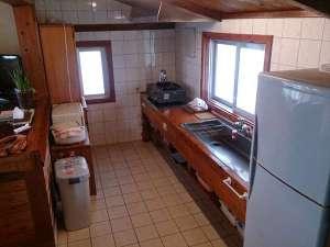 ほしの宿:広々キッチンで島の食材を使ってお料理してみては♪