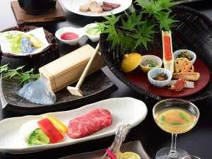和の宿 ホテル祖谷温泉:■祖谷スペシャル会席■阿波牛鉄板焼きと山の幸の会席