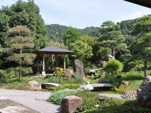 さぎの湯温泉 夢ランドしらさぎ:庭園☆四季折々の色合いに癒される庭園