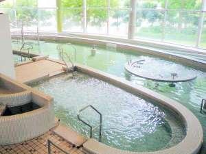 さぎの湯温泉 夢ランドしらさぎ:【バーディゾーン】温水プールは水着着用でお入り下さい♪