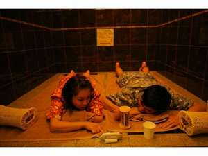 下呂温泉 アートな館 紗々羅(ささら):カップルやご夫婦に人気♪個室での岩盤浴でリラックス