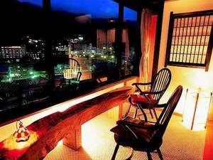 下呂温泉 アートな館 紗々羅(ささら):夜景が綺麗(紗々羅館/バラード客室/一例)