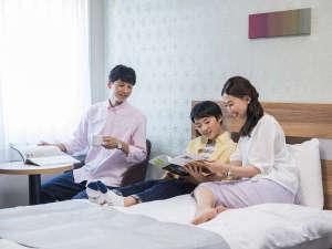 コンフォートホテル釧路:【客室】ファミリー利用イメージ