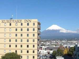 くれたけイン富士山の写真