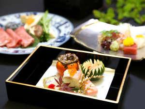 萩城三ノ丸 北門屋敷:旬の食材を丁寧に調理した北門屋敷のお料理(イメージ)。