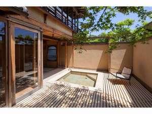 庭園の宿 石亭:安庵の露天風呂