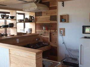 Private House NINUFA:宿泊者専用のキッチン。滞在中は自由にご利用いただけます。
