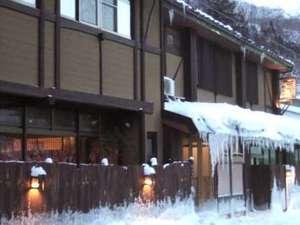 真冬のなかや旅館は、こんな感じ(>_<)