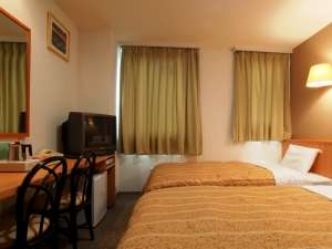 クア・アンド・ホテル 石和健康ランド:【ツインルーム】 無料LAN接続とVOD(1日:1,000円)を全室完備。