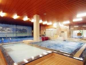 クア・アンド・ホテル 石和健康ランド:【大浴場】 健康ランド自慢の24のお風呂・サウナ。※宿泊のお客様無料。