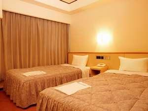 ホテルコンソルト:ツイン<お部屋の広さ>14平米<ベッド幅>97×195cm
