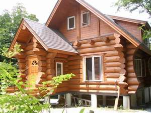 コテージ蒜山の森~コンセプトログハウスでリラックス!