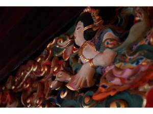 西禅院:本堂の彩色