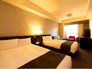 ヴィラフォンテーヌ東京六本木:【ツイン 30㎡】セミダブル(幅 120cm)ベッドが2台