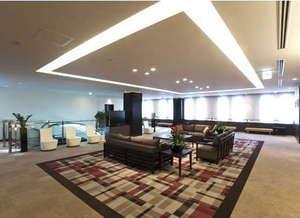 ダイワロイネットホテル大分:広々とした明るく清潔感あふれるロビーでゆったりと♪