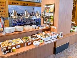 ダイワロイネットホテル大分:和洋朝食バイキング会場 1階「さかなや道場」