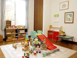 赤ちゃん・チビッコ大歓迎!  ペンション トロールの森:絵本や木のおもちゃがいっぱいのキッズルーム