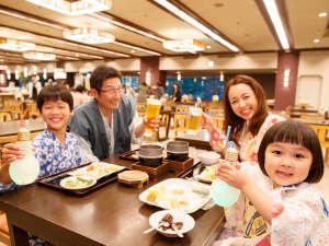 花巻温泉ホテル紅葉館(こうようかん):家族でわいわい!バイキング♪