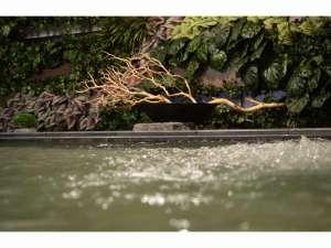 SPA HOTEL ソーレすすきの:2015/12/1森林をイメージした癒しの内風呂に♪