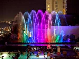 杉乃井ホテル:ザ アクアガーデン「噴水ショー」毎日開催しております!