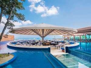 杉乃井ホテル:フローティングアイランド「シーズテラス」中館のお客様優先のお食事会場