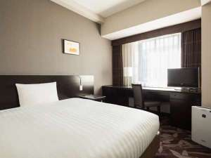 ホテルメッツ立川 東京<JR東日本ホテルズ>:■シングル■16㎡・ベッド幅140cm 大人1名+未就学児1名の添い寝ができます